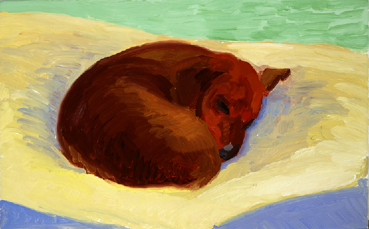 Image of Dog Painting 9A