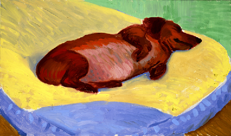 Image of Dog Painting 16