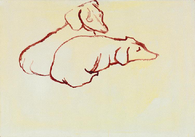 Image of Dog Painting 18