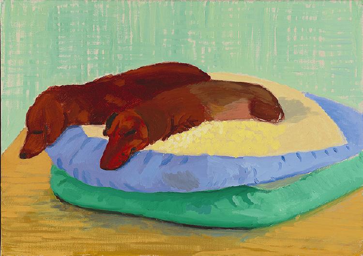 Image of Dog Painting 20