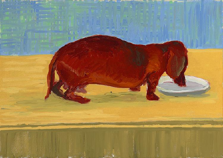 Image of Dog Painting 24
