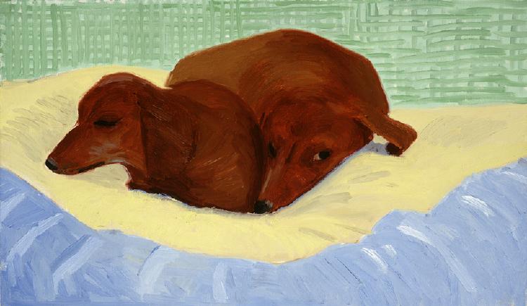 Image of Dog Painting 26