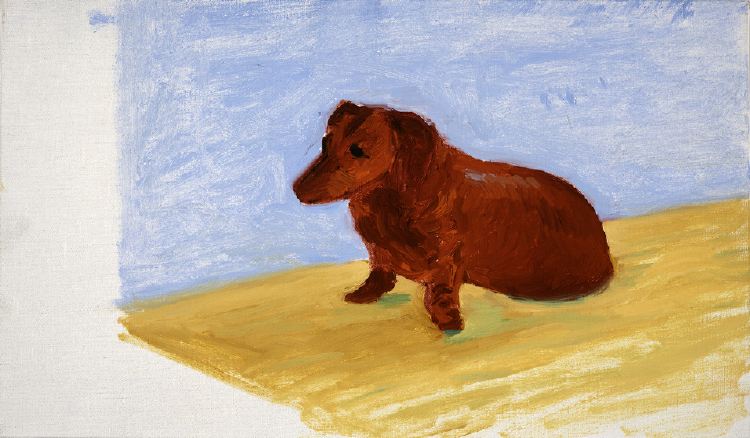 Image of Dog Painting 28