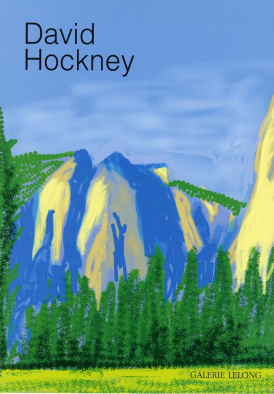 Cover of David Hockney: The Yosemite Suite