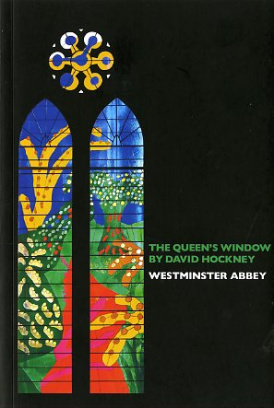 Cover of The Queen's Window by David Hockney