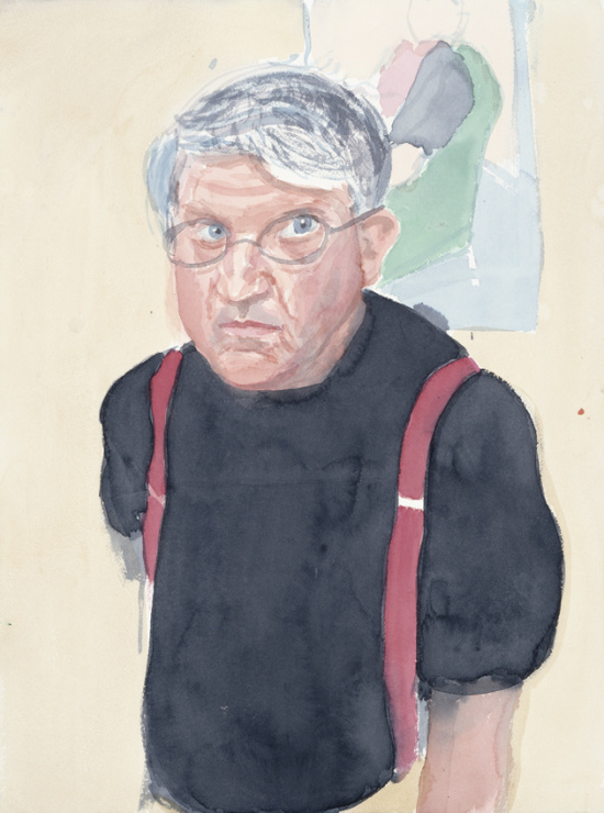 Image of 03C27 (Self Portrait with Red Braces II)