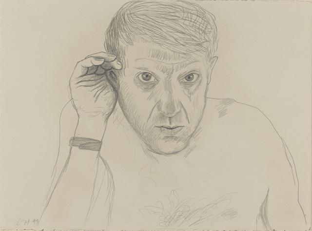 Image of 99B07 (Self Portrait, Baden-Baden, 10th June 1999)