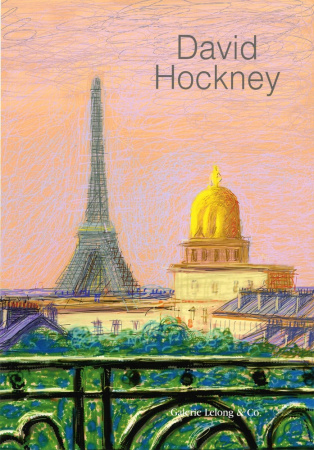 Cover of David Hockney Pictures of Daily Life, New iPhone and iPad drawings