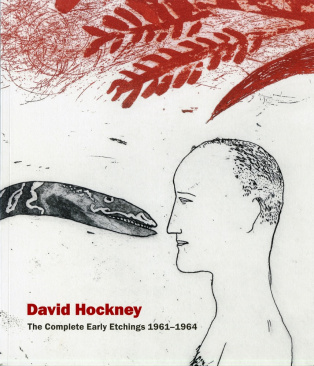 Cover of David Hockney: The Complete Early Etchings 1961–1964